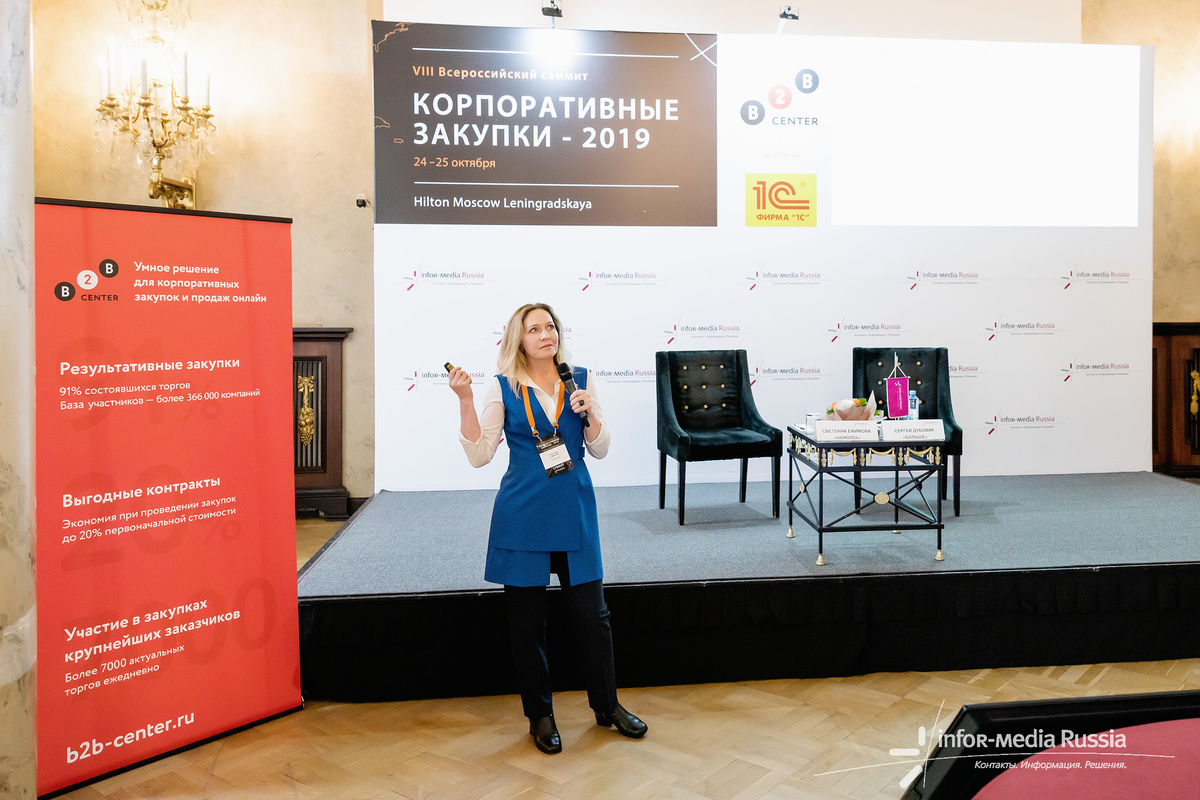 The Corporate Purchases 2019 Summit with participation of NANOLEK