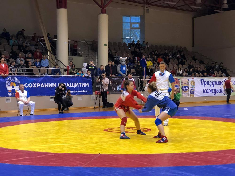 NANOLEK is a partner of the All-Russian competition of the Dynamo society in sambo and combat sambo
