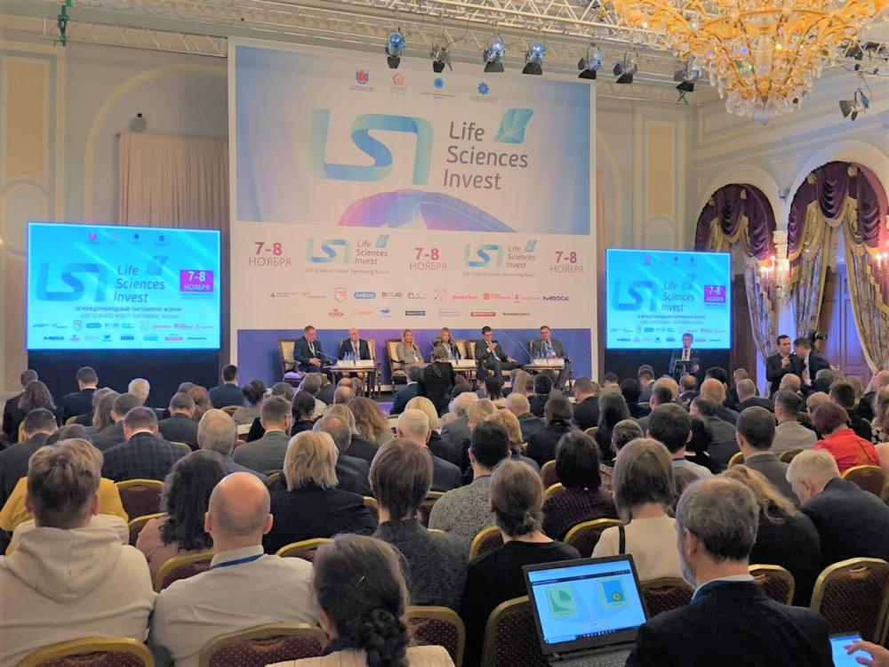 "NANOLEK at the IX International partnering forum ""Life Sciences Invest. Partnering Russia"""